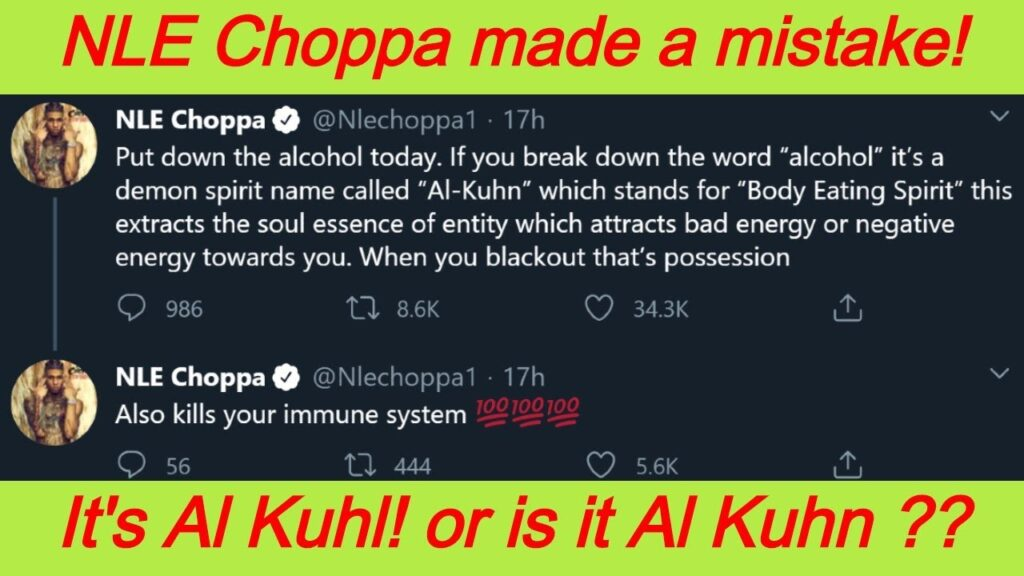 AL Kuhn Meaning - NLE Choppa Said This In A Cautionary Tweet