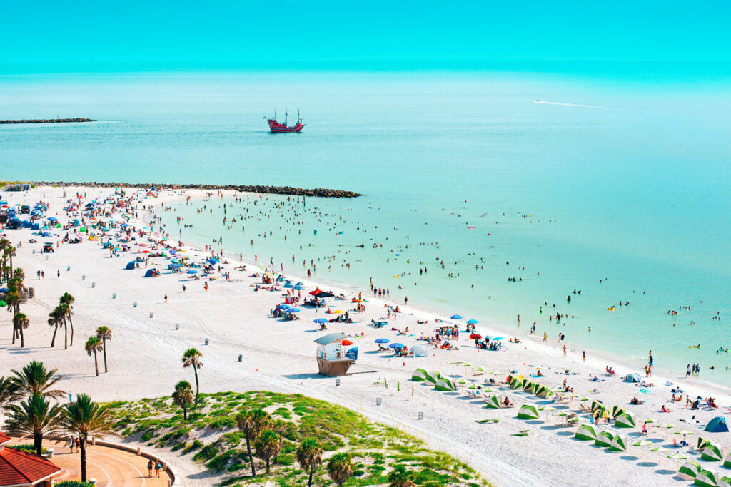 10 Most Beautiful White Sand Beaches In United States